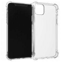 Coque en TPU antichoc transparente pour iPhone 11 Pro