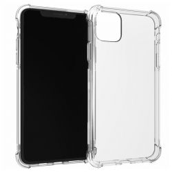 Coque en TPU antichoc transparente pour iPhone 11 Pro Max