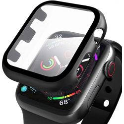 Coque de protection 360° pour Apple Watch 38mm + film en verre trempé