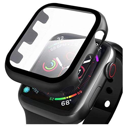 Coque de protection 360° pour Apple Watch 38mm + film en verre trempé
