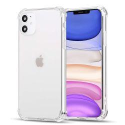 Coque en TPU antichoc transparente pour iPhone 12