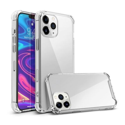 Transparent shockproof TPU case for iPhone 12 Pro