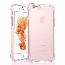 Coque en TPU antichoc transparente pour iPhone 6 et iPhone 6s