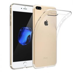 Coque en TPU transparente pour iPhone 7 Plus et iPhone 8 Plus