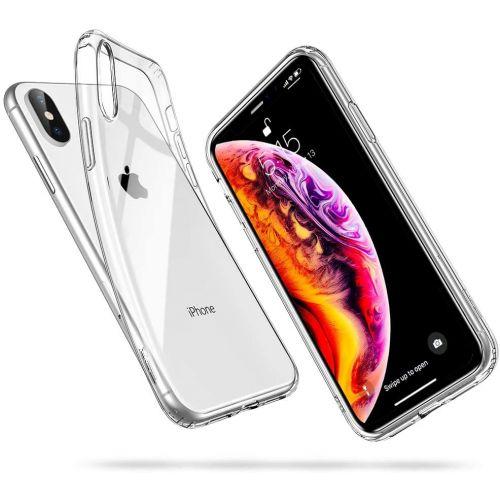 Coque en TPU transparente pour iPhone Xs MAX