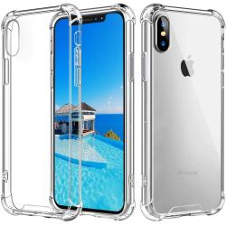 Coque en TPU antichoc transparente pour iPhone Xs MAX