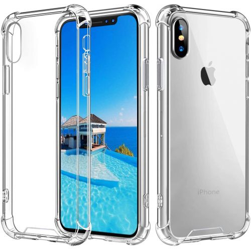 Transparent shockproof TPU case for iPhone Xs MAX