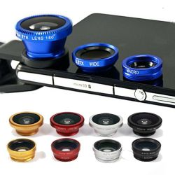 Fish Eye 3 in 1 universal clip