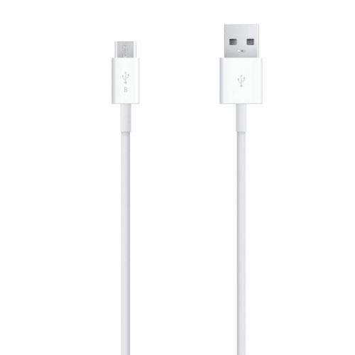 Cable micro USB noir pour recharger et synchroniser