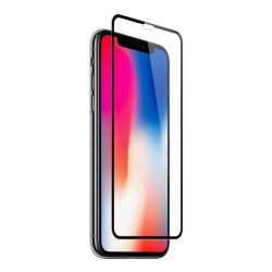 iPhone X - XS - Film en verre trempé incurvé 9H 3D