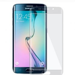 Samsung Galaxy S6 Edge - curved Tempered glass screenprotector 9H 3D