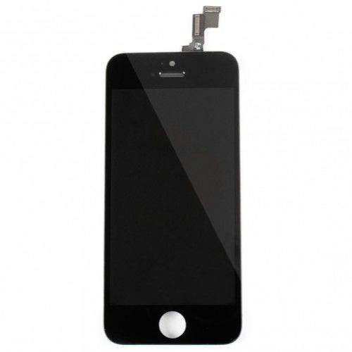 Zwart scherm voor iPhone 5s - 1e kwaliteit
