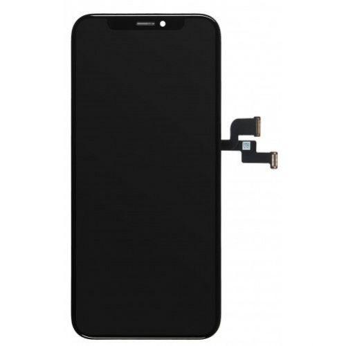 Zwart scherm voor iPhone Xs - 2e kwaliteit