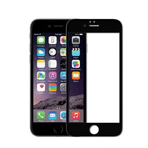 iPhone 6 - 6s Plus - Curved tempered glass screenprotector 9H 5D
