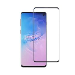 Samsung Galaxy S10 - Curved Tempered glass screenprotector 9H 3D