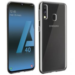 Coque en TPU transparente pour Samsung Galaxy A40