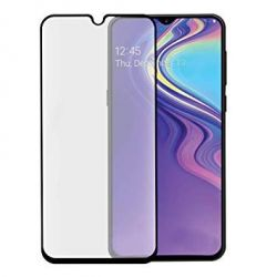 Samsung Galaxy A40 - Black curved tempered glass 9H 5D