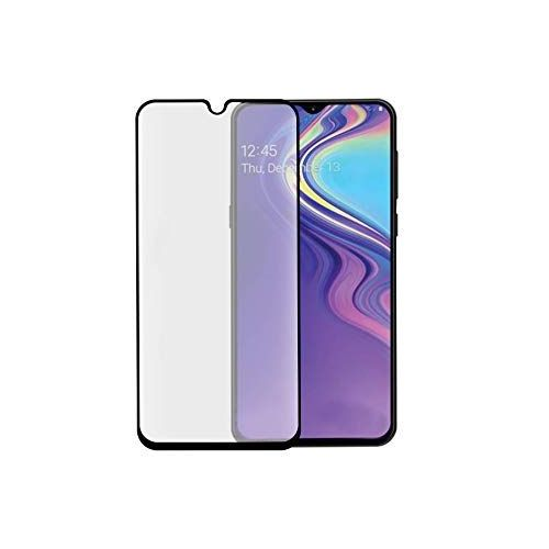 Samsung Galaxy A40 - Zwarte curved tempered glass screenprotector 9H 5D