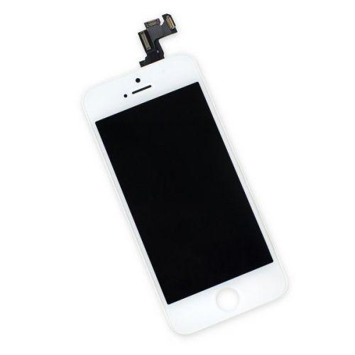 Écran Complet Blanc pour iphone 5s - 1ère Qualité
