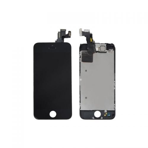 Écran Complet Noir pour iphone 5c - 1ère Qualité