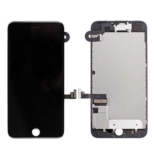 Écran Complet Noir pour iphone 7 Plus - 1ère Qualité